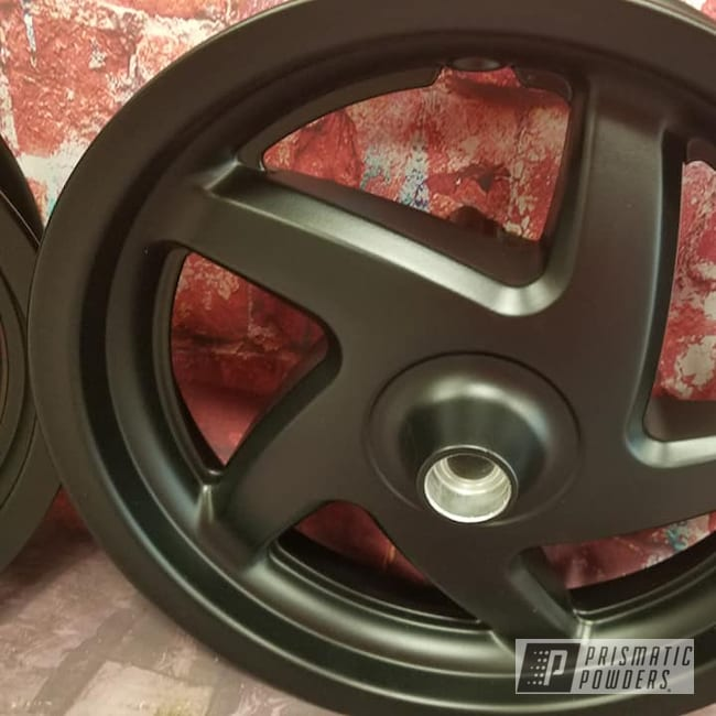Powder Coating: Wheels,Automotive,BLACK JACK USS-1522,Custom Wheels,Motor Bike Wheels,Scooter