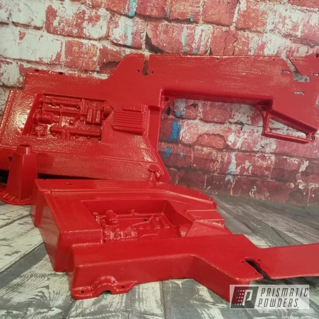 Powder Coating: Ink Black PSS-0106,Pedal Car,Tricycle,Tractor,RAL 3002 Carmine Red,Toy
