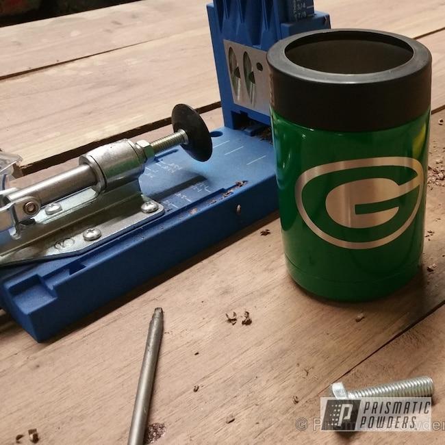Powder Coating: Tumbler,cup,Redwood Green PSB-4075,mug,Miscellaneous