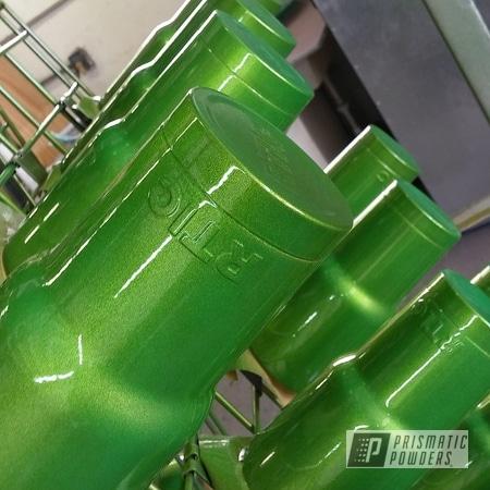 Powder Coating: Clear Vision PPS-2974,Tumbler,RTIC,Illusion Sour Apple PMB-6913,Custom Cup,Custom RTIC Tumbler