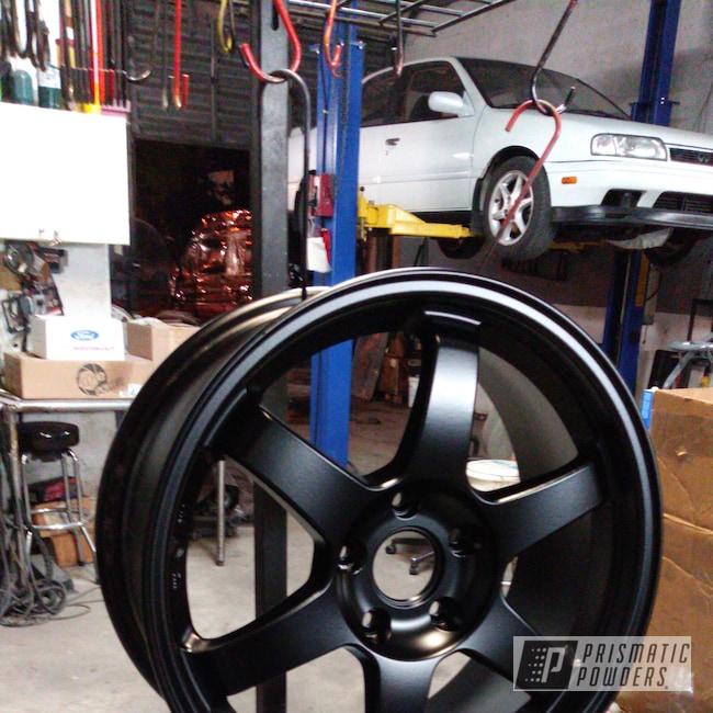 "Powder Coating: Wheels,Automotive,Clear Vision PPS-2974,Brakes,BLACK JACK USS-1522,Aluminium Wheels,Brembo,Brake Calipers,17"" Wheels,Illusion Cherry PMB-6905"