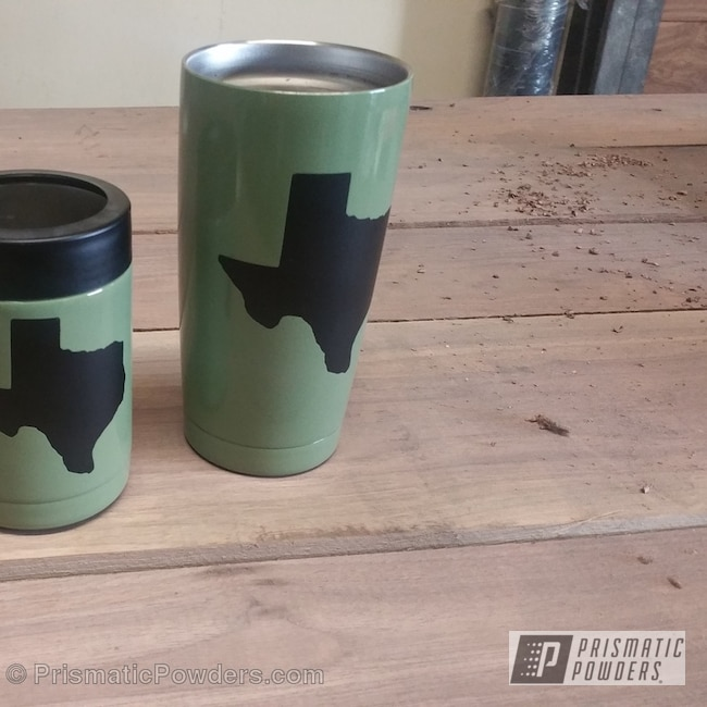 Army Green With Ink Black | Gallery Project | Prismatic Powders