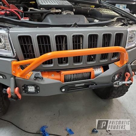 Powder Coating: Automotive,Just Orange PSS-4045,Jeep,Jeep Bumper