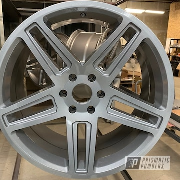 Powder Coated Silver Grey Ford Truck Rims