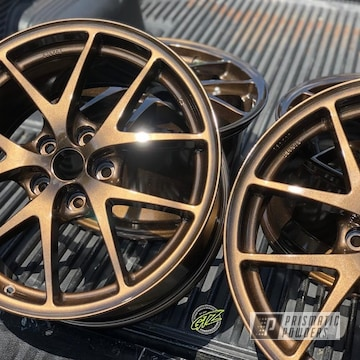 Powder Coated Bronze Wheels