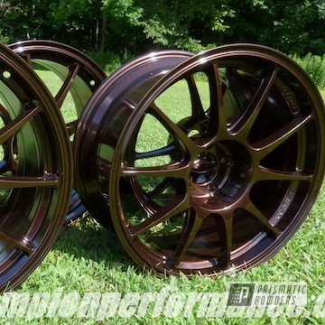 Powder Coated Copper Alloy Rims