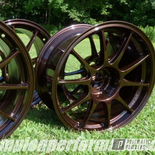 Powder Coated Copper Alloy Rims