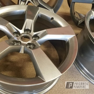 Powder Coated Grey 20 Inch Chevy Camaro Rims