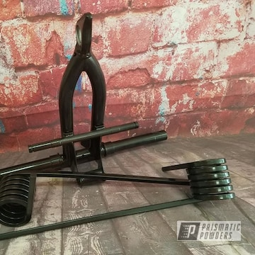 Powder Coated Black Snowmobile Springs And Suspension
