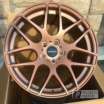 Powder Coated Copper 18 Inch Braelin Rims