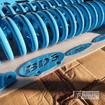 Powder Coated Light Blue Truck Suspension Kit