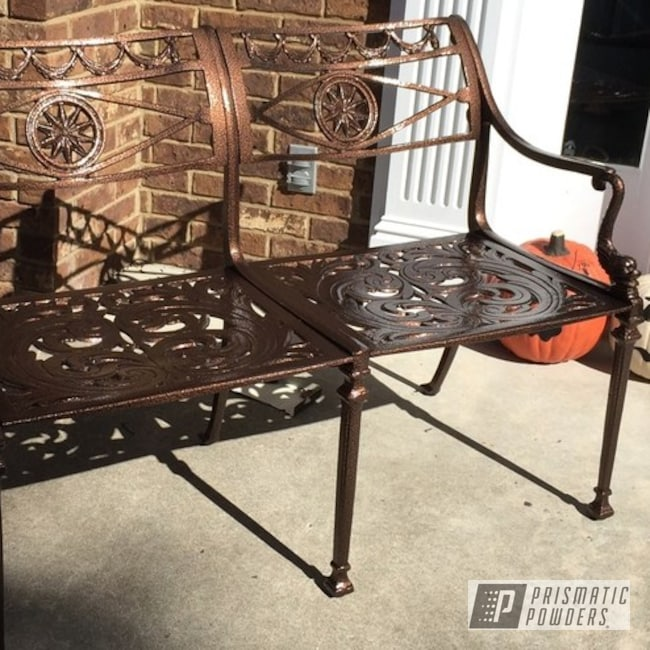 Powder Coating: Clear Vision PPS-2974,US Penny Vein EVS-4485,Outdoor Furniture,Furniture