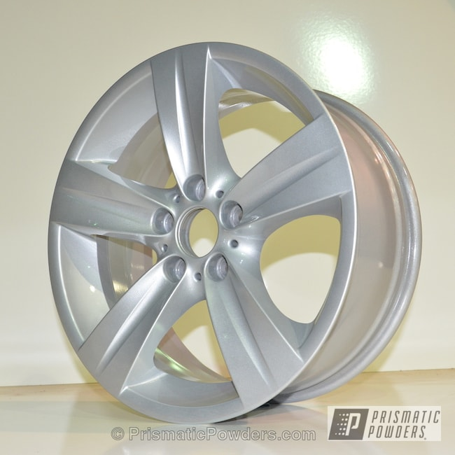 Powder Coating: Wheels,Porsche Silver PMS-0439,Clear Vision PPS-2974