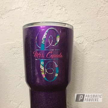Candy Grape Ii Over Super Chrome With City Lights Top Coat
