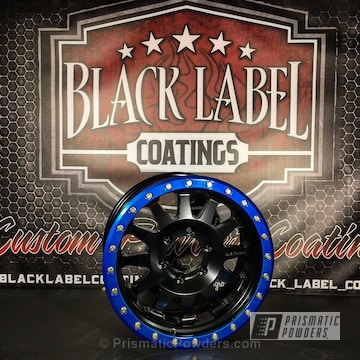 Black Jack And Peeka Blue Over Super Chrome
