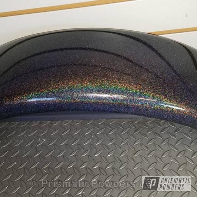 Powder Coating: Clear Lights PPB-4864,Motorcycles,Harley Rear Fender