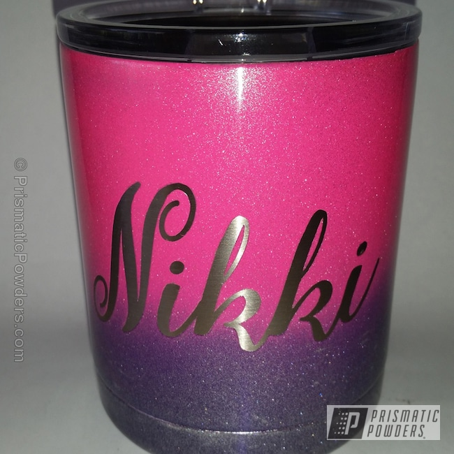 Powder Coating: Tumbler,COSMIC CLEAR UPB-2465,Lollypop Purple PPS-1505,Sassy PSS-3063,Miscellaneous