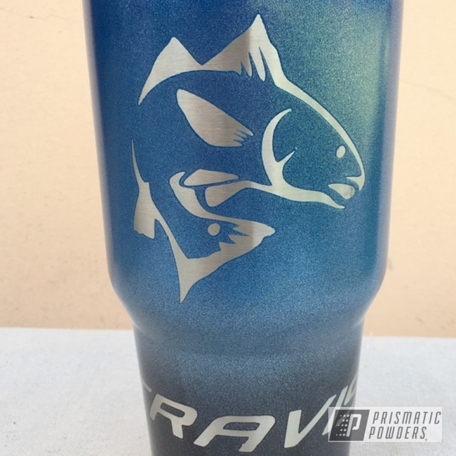 Powder Coating: Tumbler,Redfish,RTIC,Kingsport Grey PMB-5027,Custom Cup,Cosmic Blue PMB-1803,Miscellaneous