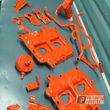 Clear Vision Over Flag Orange