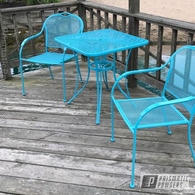 Powder Coating: Single Powder Application,Patio Furniture,Navajo Nugget PSB-6838,Furniture