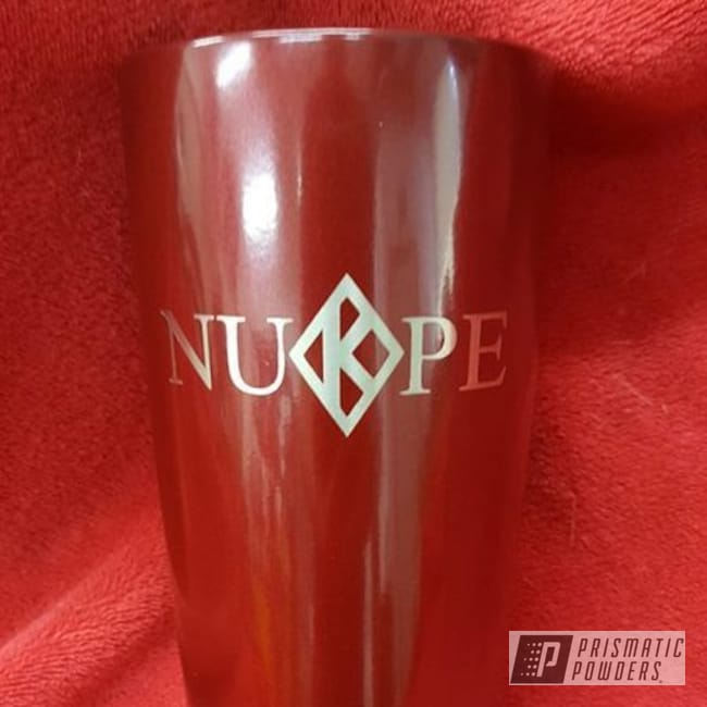 Powder Coating: Tumbler,cup,CRIMSON RED UPB-1163,Miscellaneous