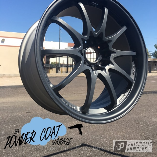 Powder Coating: Wheels,Speedway Grey PMB-4911,Volk Ray