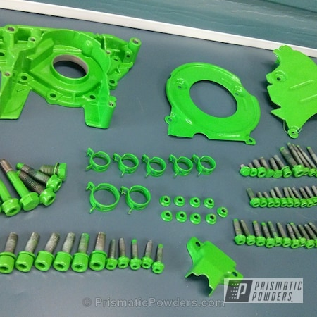 Powder Coating: Automotive,Clear Vision PPS-2974,Audi,Racer Green PSS-4531,Audi A4