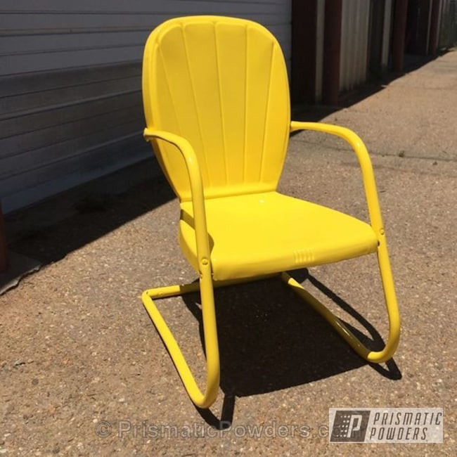Powder Coating: Electric Yellow PSS-2834,Furniture