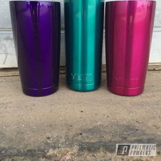 Powder Coating: AQUA CLEAR UPS-1680,Electro Purple PPB-1917,SUMMER PUNCH UPB-1759,Miscellaneous