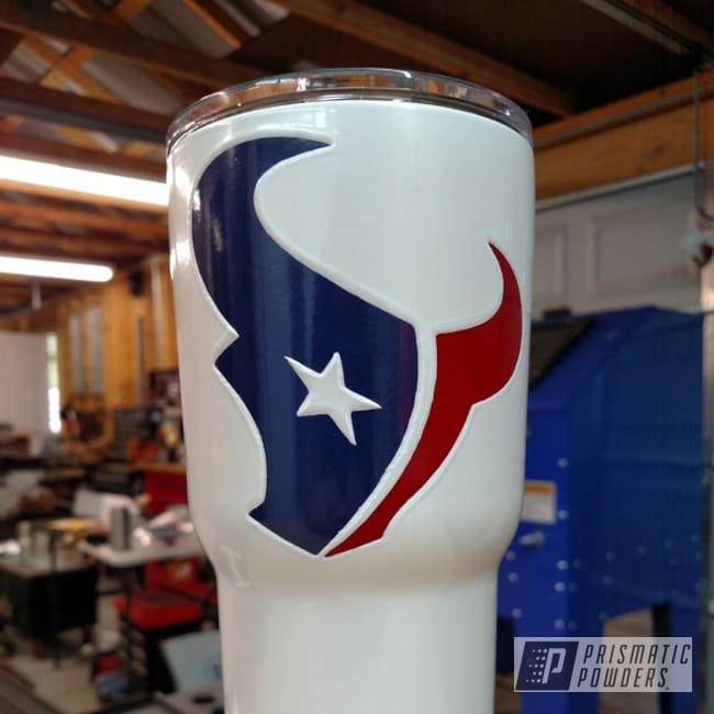 Powder Coating: Sierra Blue PSB-4719,Tumbler,Really Red PSS-4416,RTIC,Houston Texans,Miscellaneous
