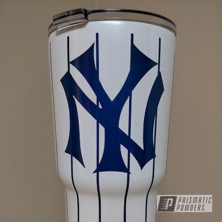 Powder Coating: Sable Royal Blue PMB-2146,Tumbler,cup,RTIC,Yankees,NY Yankees,New York Yankees,Miscellaneous