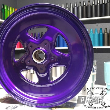 Wheel In Illusion Purple And Clear Vision