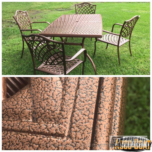Powder Coating: Empire Copper Vein PVS-5469,Copper,Outdoor Furniture,powder coated,Textured,lawn furniture,Furniture