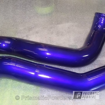 Bentley Blue Over Polished Aluminum