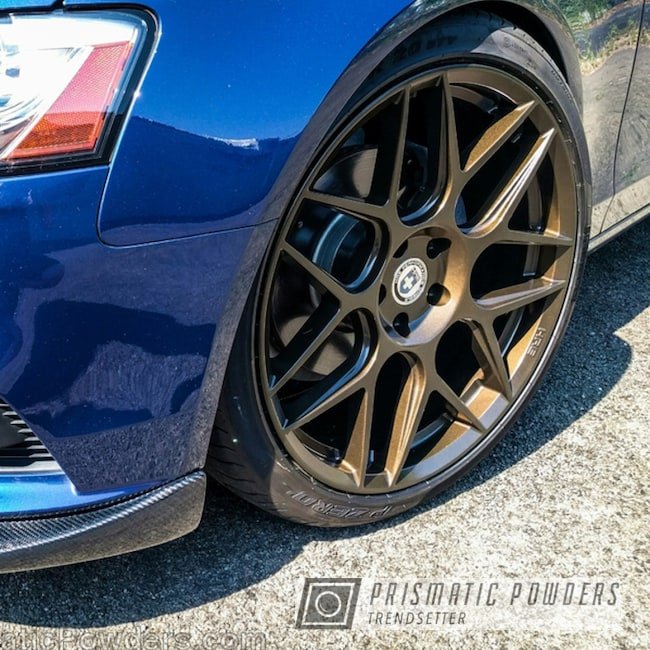 Powder Coating: Wheels,Clear Vision PPS-2974,Bronze,powder coated,Clear Top Coat,CT Bronze HMB-6871,Audi wheel