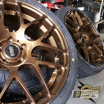 Bronze Chrome With Clear Vision Top Coat
