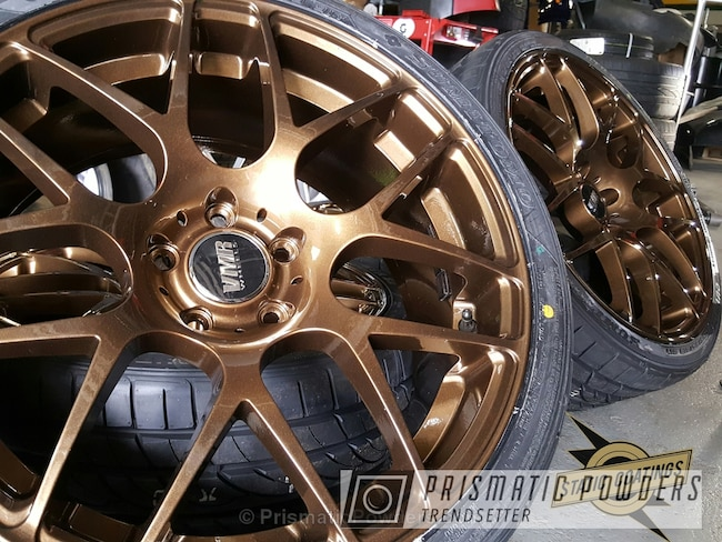 Powder Coating: Wheels,Clear Vision PPS-2974,Bronze,VMR Wheels,powder coated,Clear Top Coat