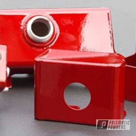 Powder Coating: Automotive,LOLLYPOP RED UPS-1506,Toreador Red PMB-2753,Red,cover parts,powder coated,Mustang