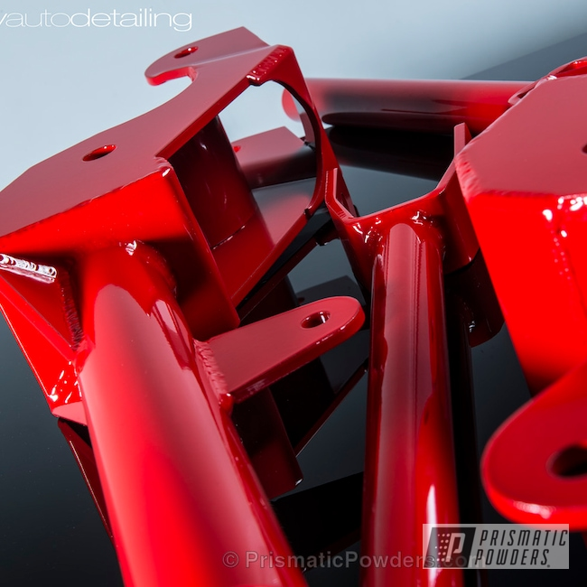 Powder Coating: Red Wheel PSS-2694,Automotive,Clear Vision PPS-2974,Suspension,Camaro