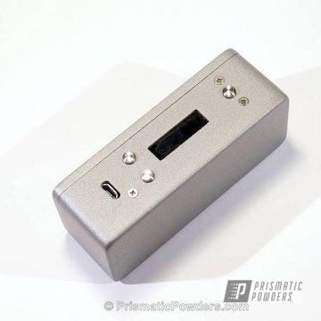 Box Mod Using Tin Foil Silver Powder Coat