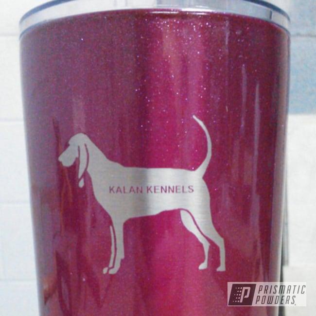 Powder Coating: Tumbler,RACING RASPBERRY UPB-6610,RTIC,dog kennel,powder coated,Pink,Miscellaneous