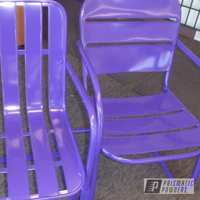 Powder Coating: Lawn Chairs,Sinbad Purple PSS-1676,Furniture