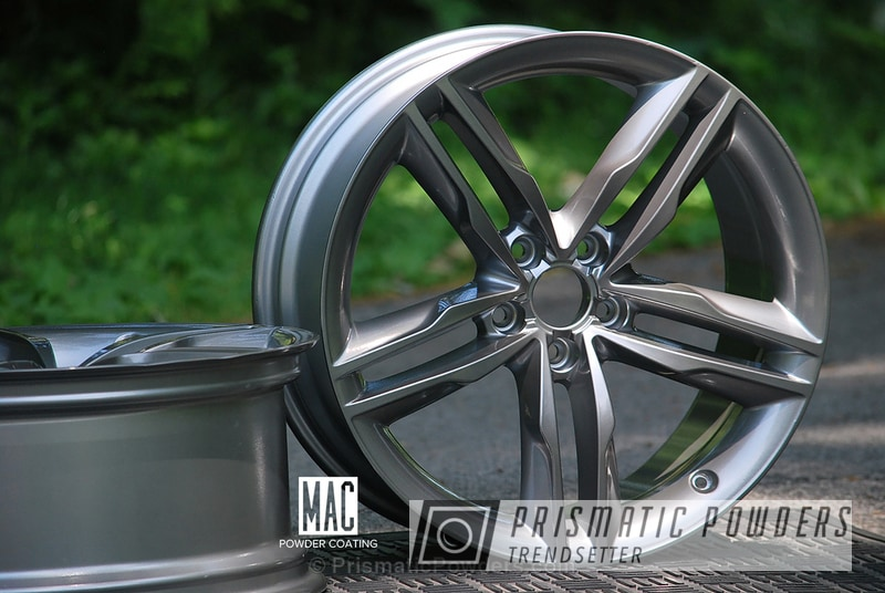 Black Chrome Ii Over Polished Aluminum