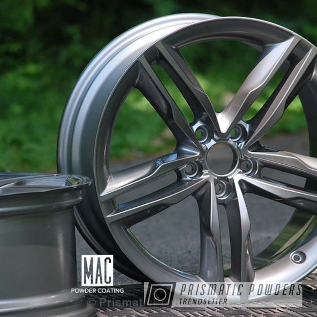 Black Chrome Ii Over Polished Aluminum