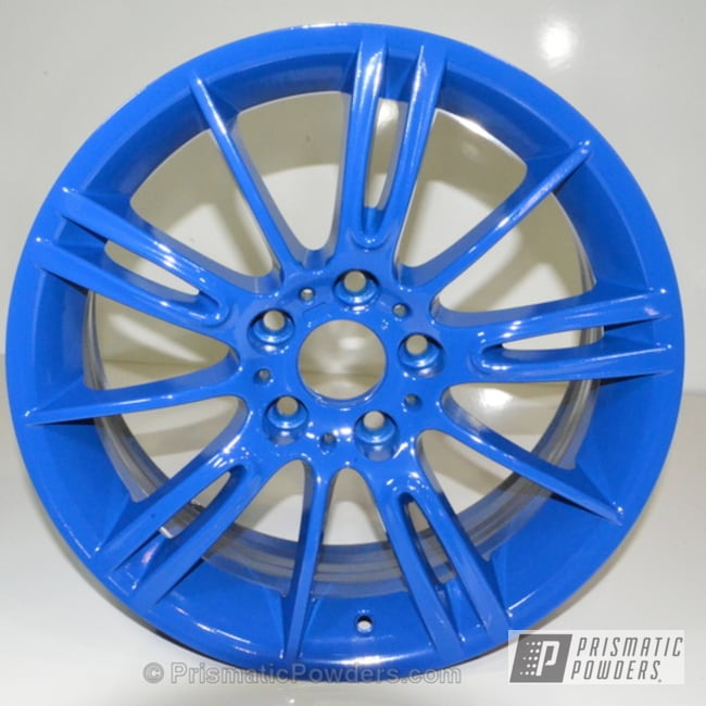 Deere Blue With Clear Vision Top Coat
