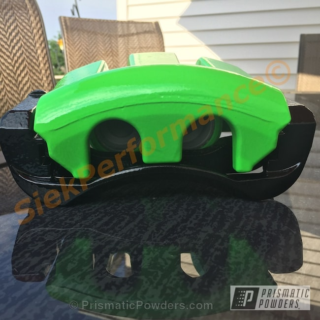 Powder Coating: Card Black PSS-1523,Automotive,Clear Vision PPS-2974,Energy Green PSB-6669