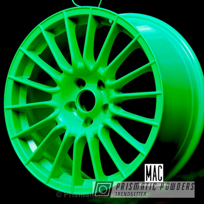 Powder Coating: Wheels,Clear Vision PPS-2974,Limelite PMB-0869