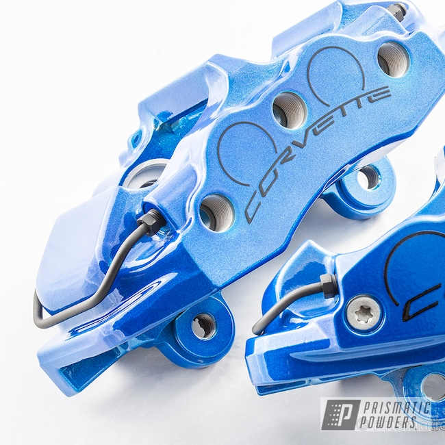 Powder Coating: Automotive,Clear Vision PPS-2974,Illusion Smurf PMB-6909