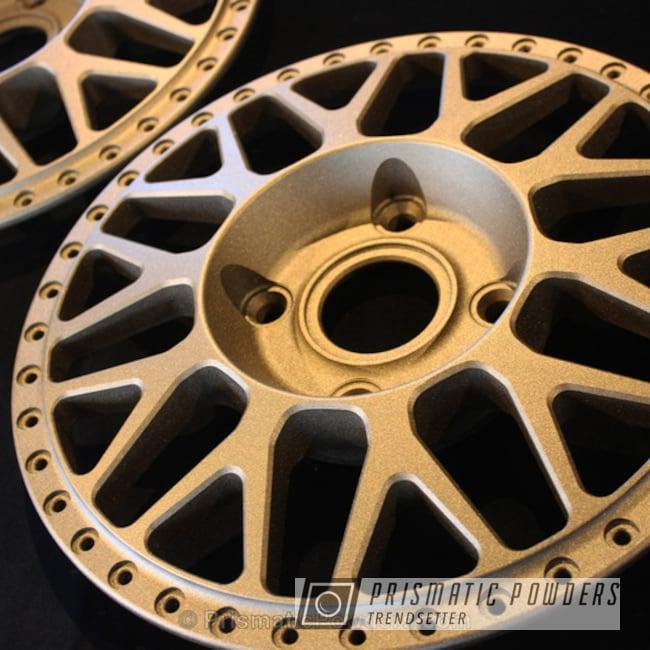 Powder Coating: Wheels,Automotive,Wheel Centers,Powder Coated Barramundi Design Wheels,Bronze Cast PCB-1105
