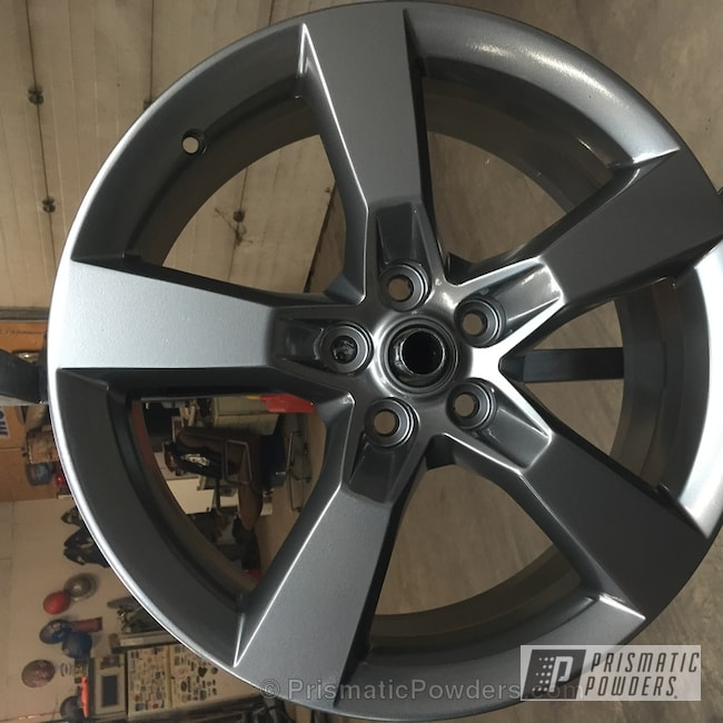 Powder Coating: Wheels,chrome,Powder Coated Wheel,ULTRA BLACK CHROME USS-5204